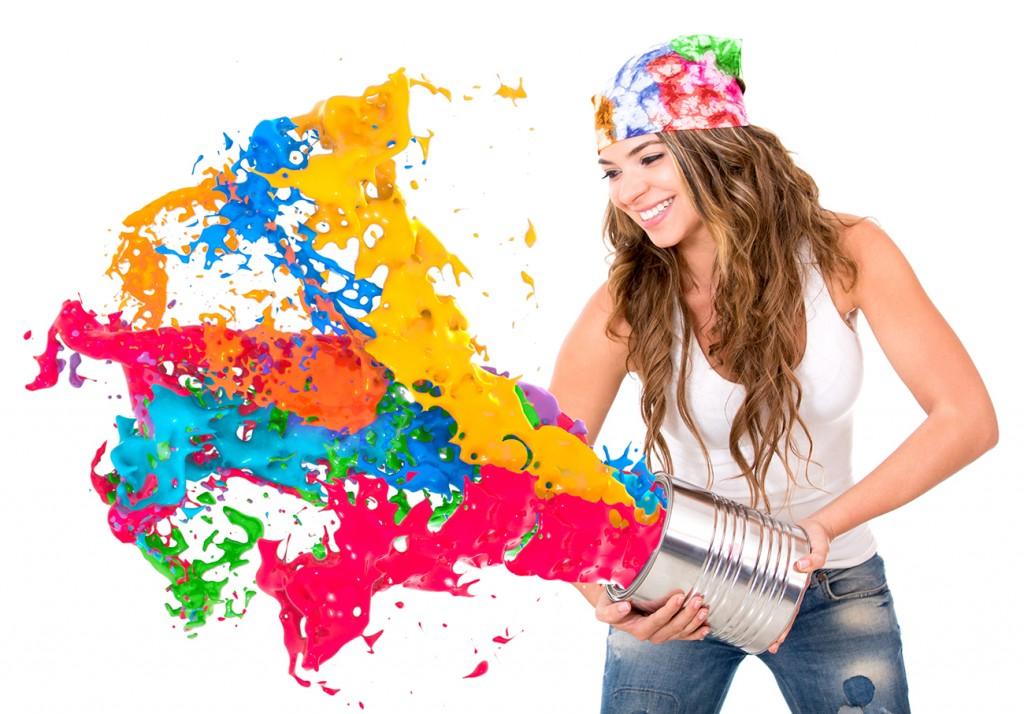 Deixe sua vida mais colorida